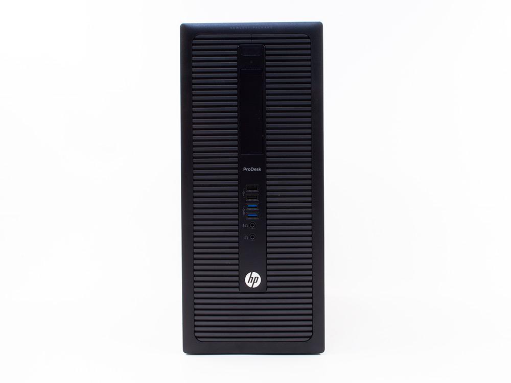 "HP ProDesk 600 G1 TOWER - TOWER   i5-4570   8GB DDR3   120GB SSD   500GB HDD 3,5""   DVD-RW   HD 4600   Win 10 Pro   Gold"