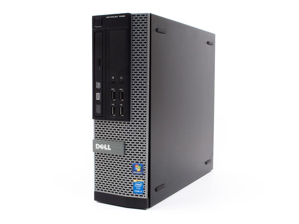 "Dell OptiPlex 7020 SFF - SFF   i5-4590   4GB DDR3   500GB HDD 3,5""   DVD-RW   HD 4600   Win 10 Pro   Gold"