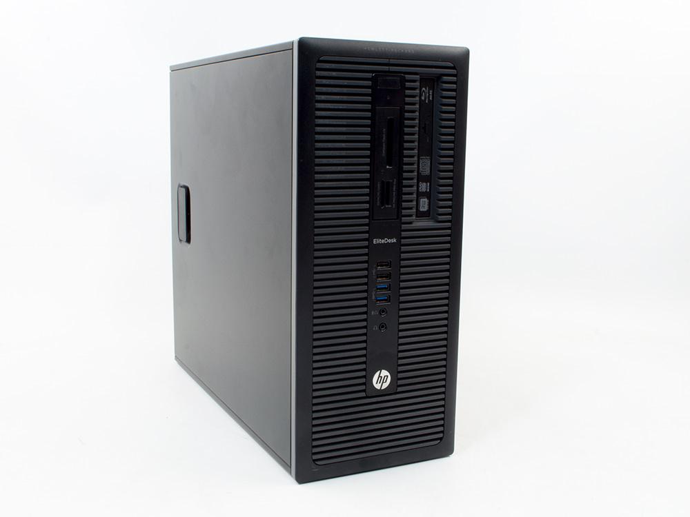 "HP EliteDesk 800 G1 Tower - TOWER | i7-4770 | 8GB DDR3 | 120GB SSD | 500GB HDD 3,5"" | DVD-RW | HD 4600 | Win 10 Pro | Gold"