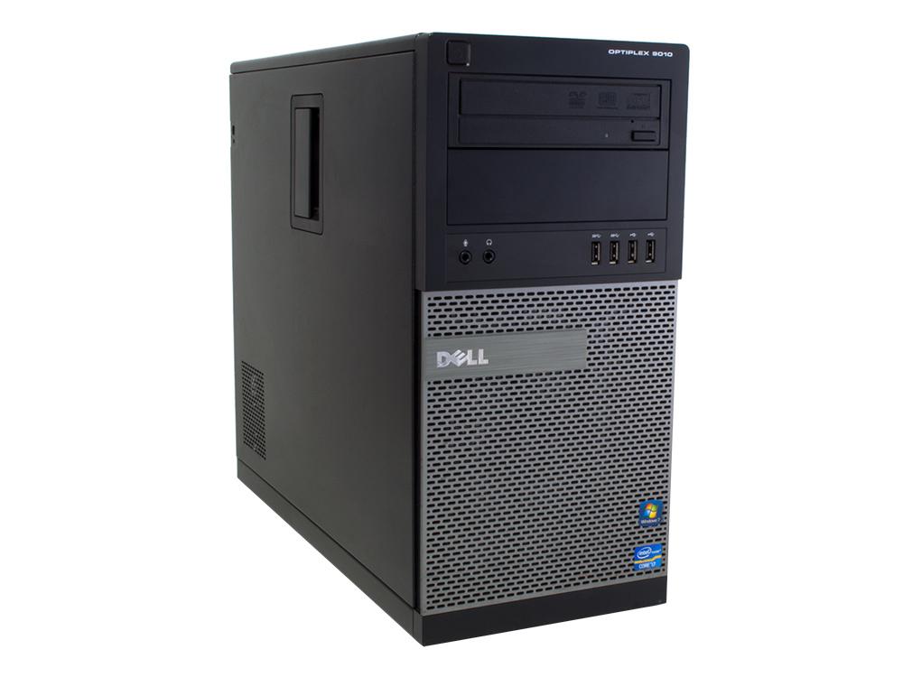 Dell OptiPlex 9010 MT - MT | i5-3470 | 8GB DDR3 | 240GB SSD | DVD-ROM | HD 4000 | Win 10 Pro | Silver