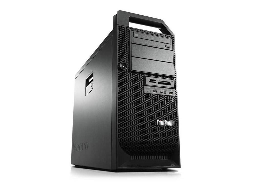 Lenovo ThinkStation S30 - TOWER | Xeon E5-2609 | 16GB DDR3 | 240GB SSD | DVD-ROM | Quadro K4000 3GB | Win 10 Pro | Silver