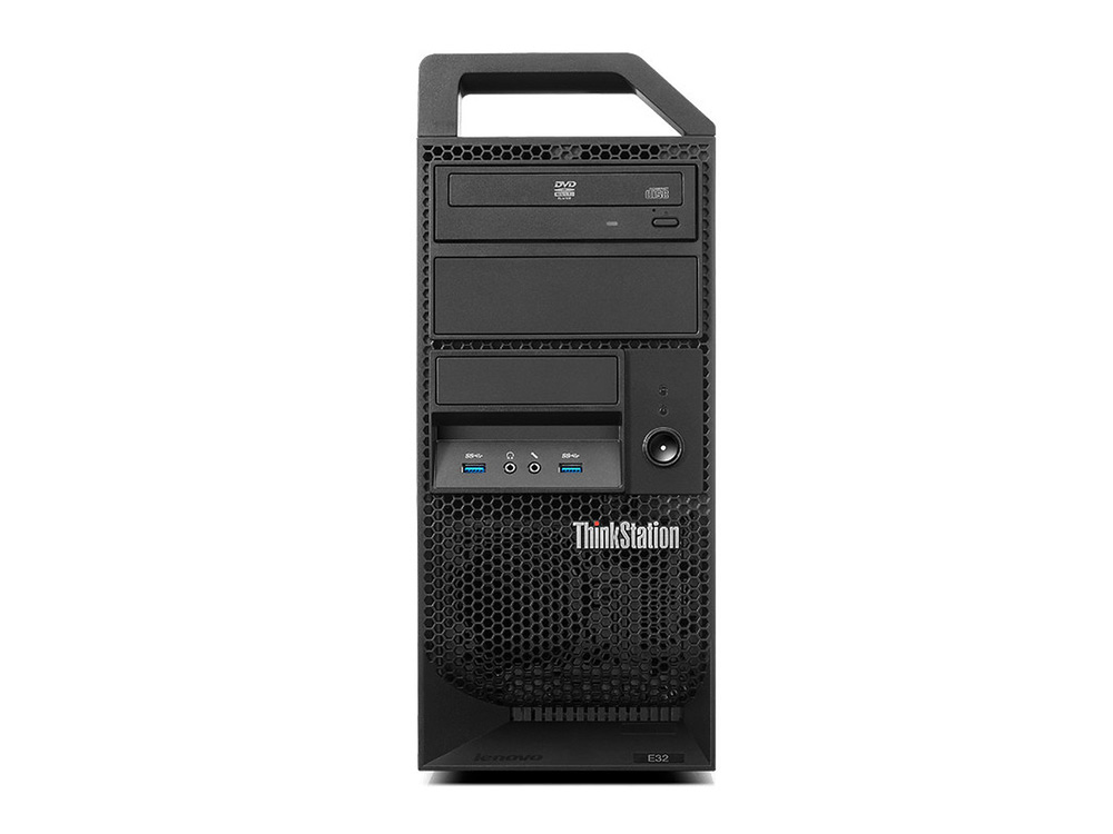 "Lenovo ThinkStation E32 MT - MT | Xeon E3-1220 v3 | 8GB DDR3 | 1TB HDD 3,5"" | DVD-RW | Quadro 410 | Win 10 Pro | Gold"