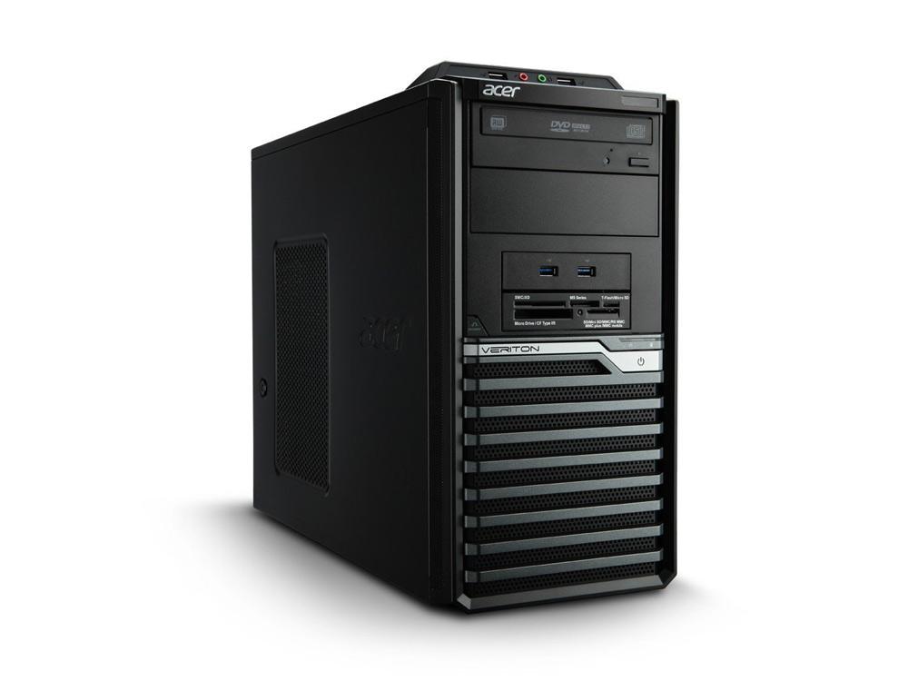 "Acer Veriton M680G - MT   i5-650   4GB DDR3   500GB HDD 3,5""   DVD-ROM   Intel HD   Win 10 Pro   Silver"