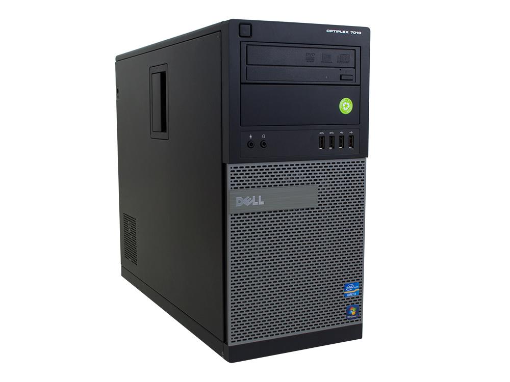 """Dell OptiPlex 7010 MT - MT   i5-3470   8GB DDR3   120GB SSD   250GB HDD 3,5""""   DVD-ROM   HD 2500   Win 10 Pro   Silver"""