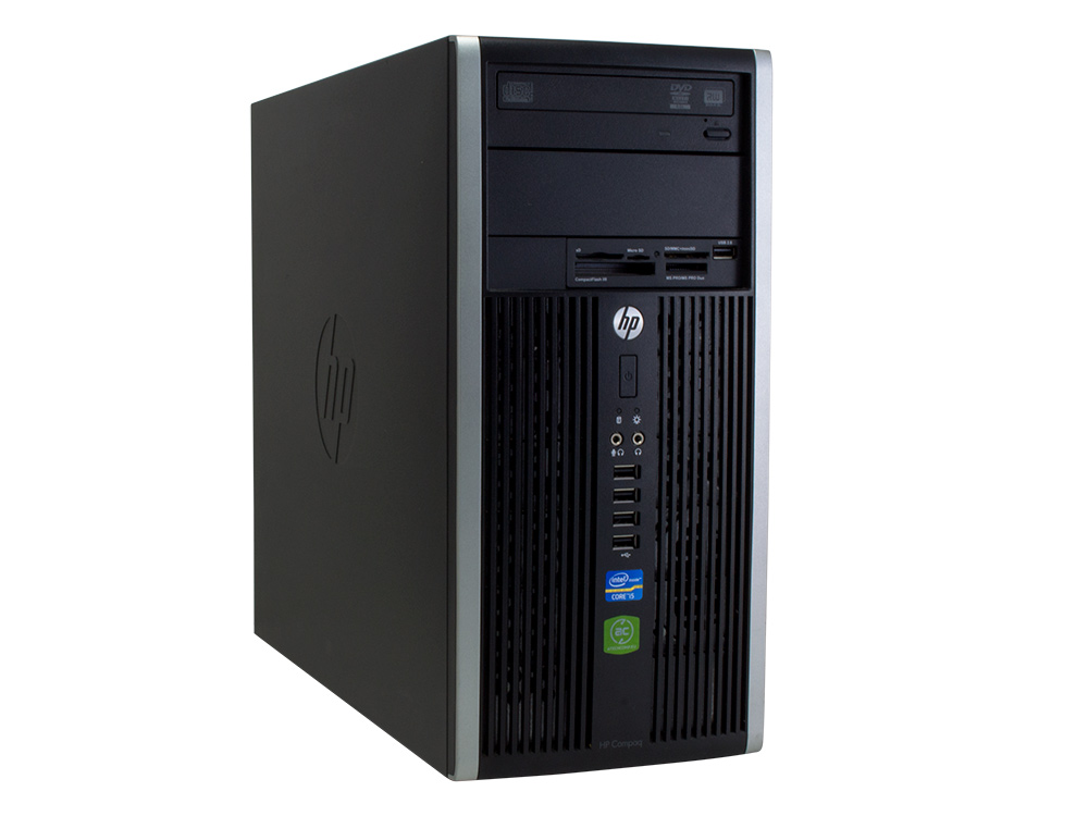"HP Compaq 6300 Pro MT - MT | i5-3470 | 8GB DDR3 | 120GB SSD | 250GB HDD 3,5"" | DVD-ROM | HD 2500 | Win 10 Pro | Gold"