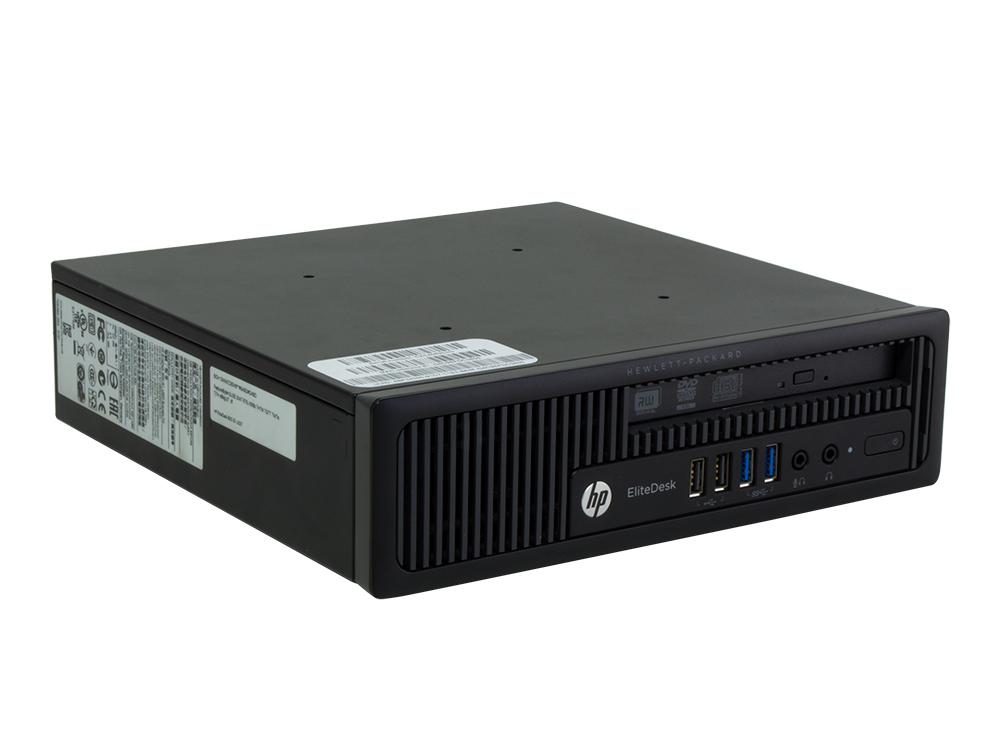 HP EliteDesk 800 G1 USDT - USDT | i3-4130 | 8GB DDR3 | 128GB SSD | DVD-ROM | Win 10 Pro | Bronze