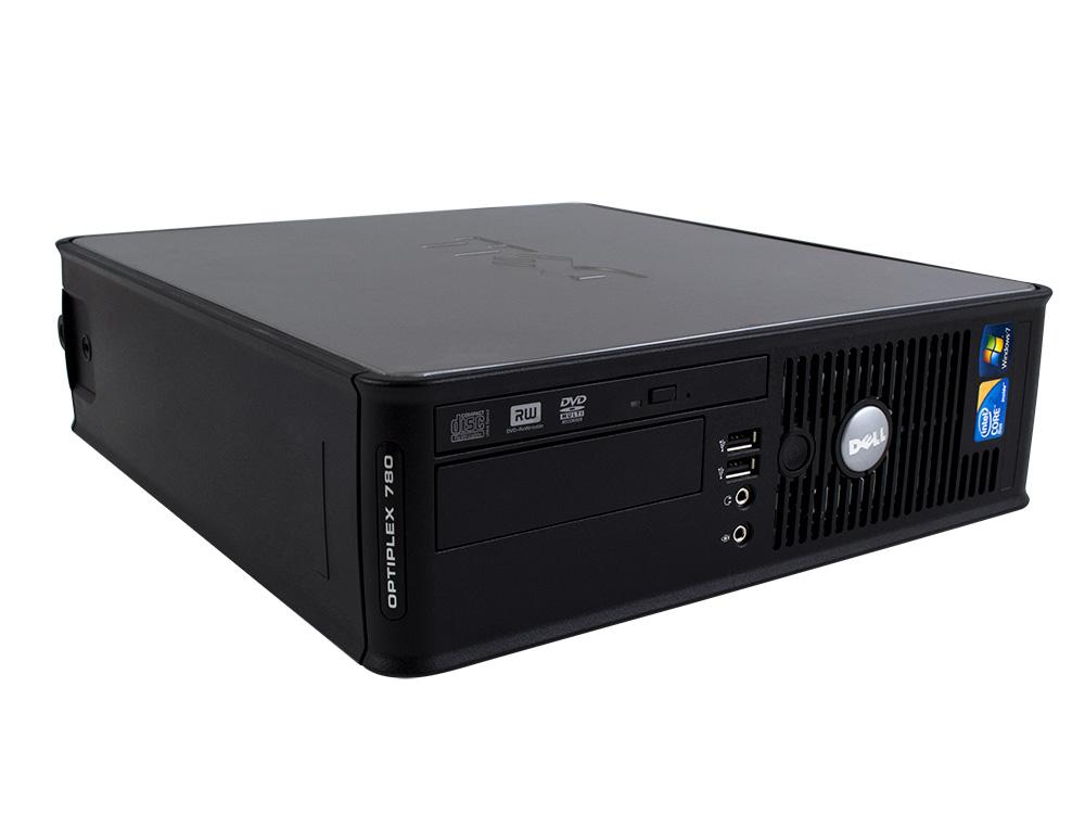 Dell OptiPlex 780 SFF - SFF   Pentium E5800   4GB DDR3   120GB SSD   DVD-ROM   GMA 4500   Win 7 Pro COA   Bronze