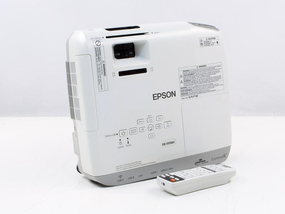 Projektor Epson EB-955WH - 1280 x 800 | HDMI | 10000 : 1 | Silver