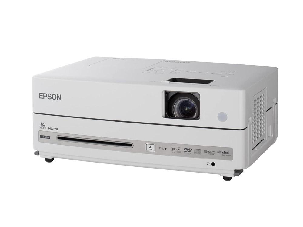 Projektor Epson EB-W8D - DVD-ROM | 1280 x 800 | HDMI | Gold