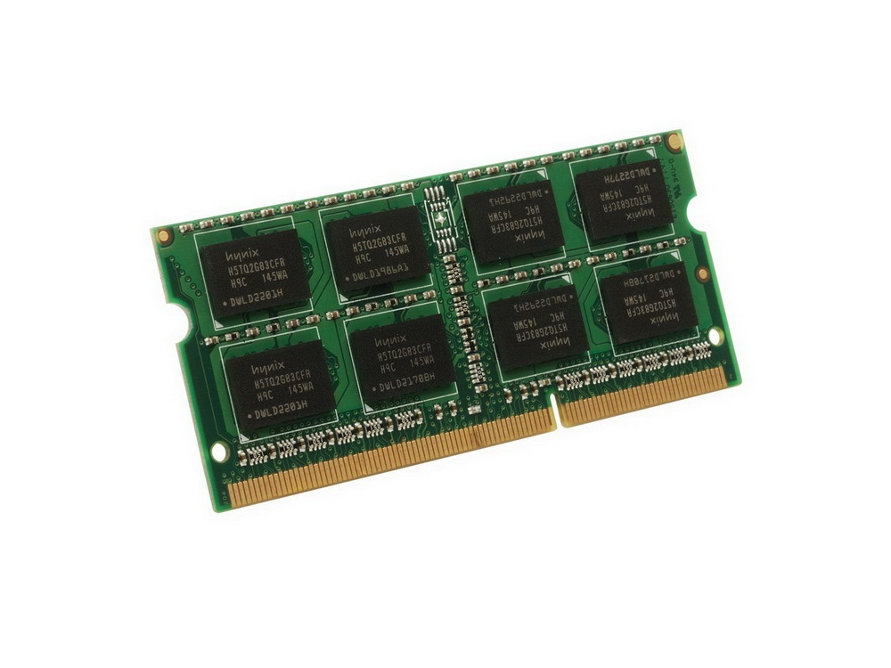 Pamäť RAM 1GB DDR3 SO-DIMM 1066MHz - Gold | 1GB