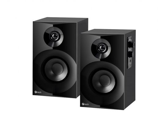 C-Tech SPK-14, 2.0, wood, black Reproduktor - 1840012 #1