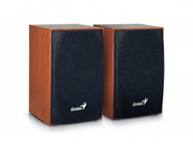 Genius SP-HF160 2X2W USB, wood