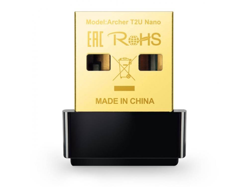 USB Wifi TP-Link Archer T2U NANO AC600 Wifi DualBand - NEW