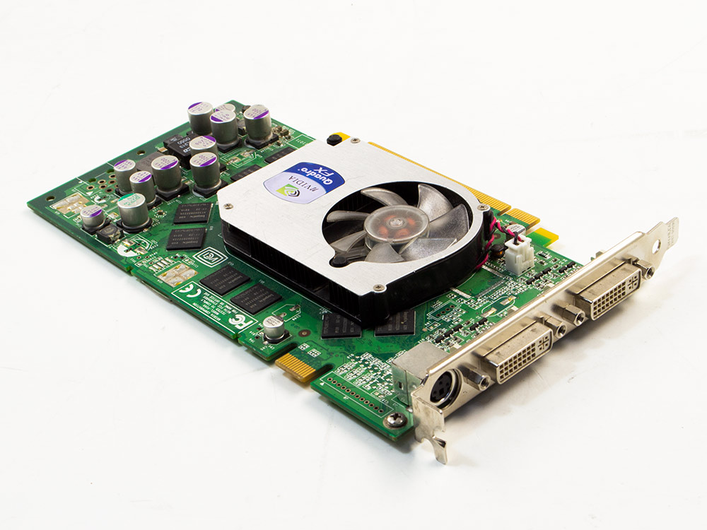 Grafická karta Nvidia Quadro FX 1400 - DVI | PCI Express x16 | 256-bit