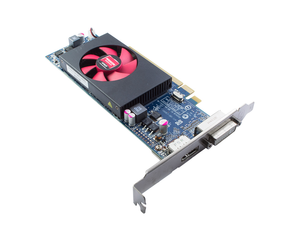 Grafická karta AMD Radeon HD 8490 - DVI | DP | 1 GB | GDDR3 | PCI Express x16 | 64-bit | Gold