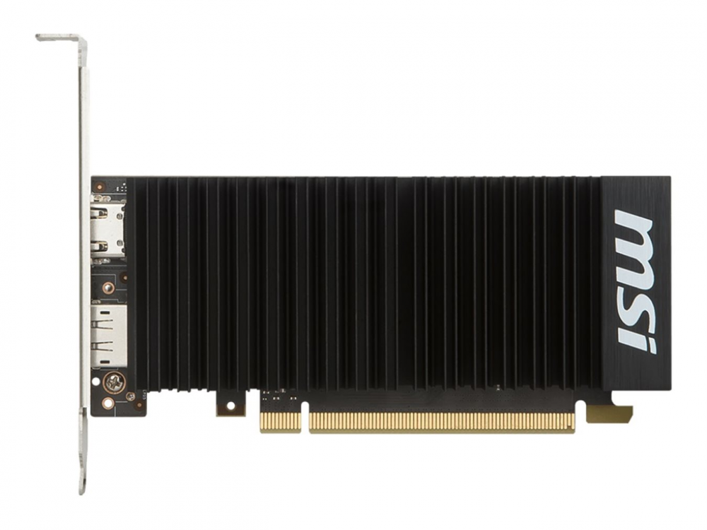 Grafická karta MSI GT 1030 Low Profile 2G OC - DP | HDMI | PCI Express x16 | 64-bit | NEW | Low profile