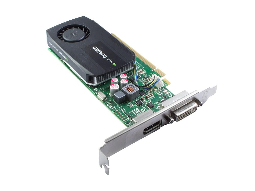 Grafická karta Nvidia NVIDIA Quadro 600 - DVI | DP | 1 GB | GDDR3 | PCI Express x16 | 128-bit | Gold | Low profile