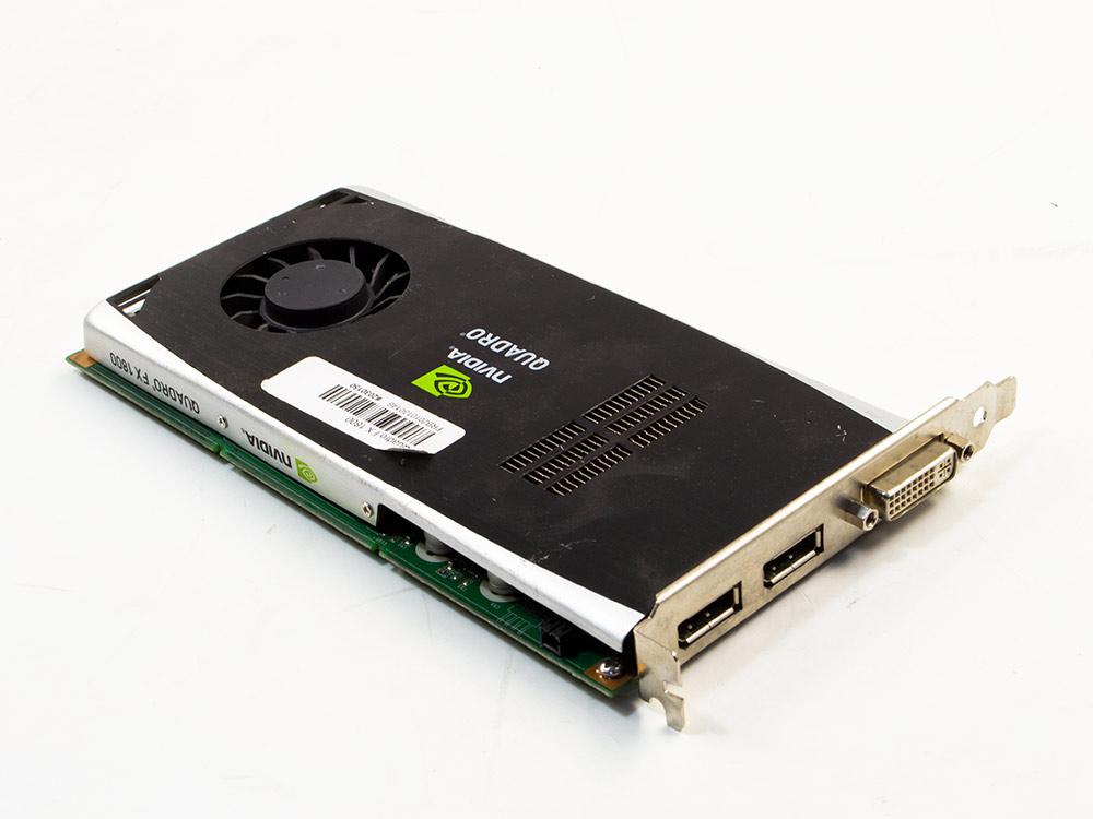 Grafická karta Nvidia Quadro FX 1800 - DVI | DP | GDDR3 | 192-bit