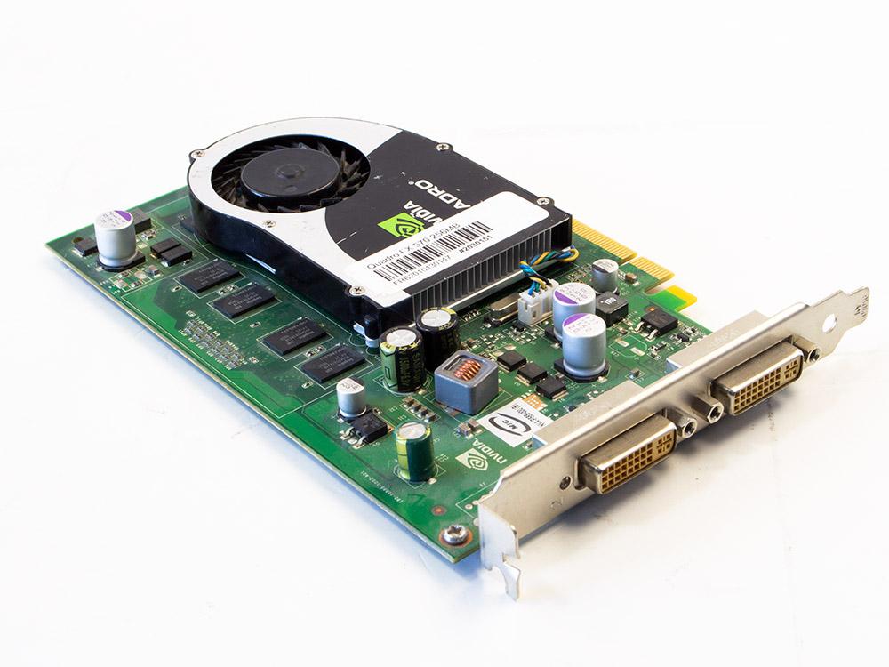 Grafická karta Nvidia Quadro FX 570 - DVI   256 MB   DDR2   PCI Express x16   128-bit