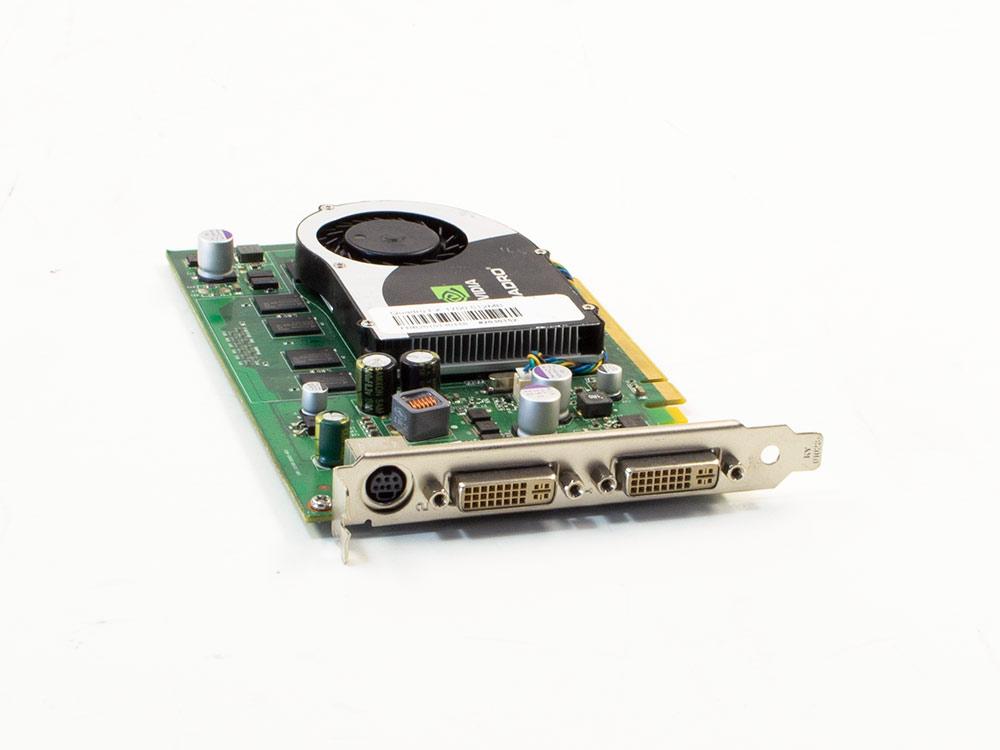 Grafická karta Nvidia Quadro FX 1700 - DVI   512 MB   DDR2   PCI Express x16   256-bit