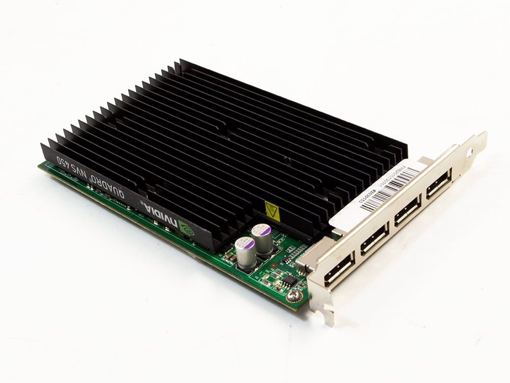 Grafická karta Nvidia Quadro NVS 450 - DP | 256 MB | GDDR3 | PCI Express x16