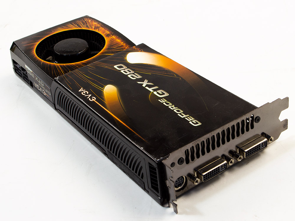Grafická karta Nvidia GeForce GTX 280 - DVI   1 GB   GDDR3   PCI Express x16   256-bit