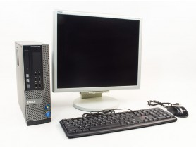 LENOVO DELL OptiPlex 3020 SFF + NEC Multi Sync 1970NX 19""
