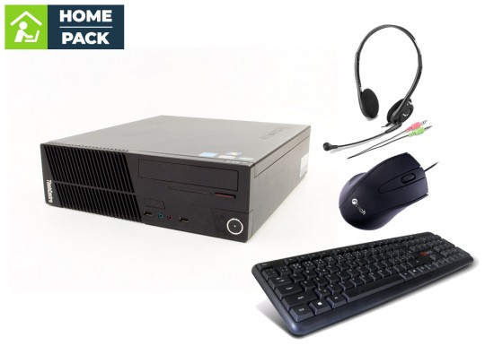 Lenovo ThinkCentre M75e SFF + Headset + Keyboard + Mouse PC zostava - 2070124 #1