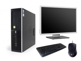 HP Compaq 8300 Elite SFF + Monitor DELL Professional P2217wh + Keyboard & M...