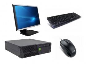 "Lenovo ThinkCentre M92p SFF + Monitor 22"" Compaq LA2205wg + Keyboard & Mouse repasovaný počítač - 2070151"