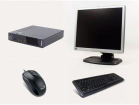 """Lenovo Thinkcentre M73 Tiny + 19"""" Monitor L1940t + Keyboard & Mouse repasovaný počítač - 2070156"""