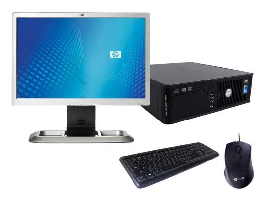 Dell OptiPlex 760 SFF + Monitor HP L2045W + Klávesnica a Myš repasovaný počítač, C2D E7300, GMA 4500, 4GB DDR2 RAM, 128GB SSD - 2070165 #1