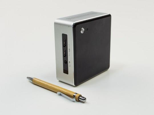 """Intel NUC5i5MYHE mini PC + 24"""" LG W2486L Monitor + Webcamera + Speaker Genius SP-HF180 + Klavesnica a Myš repasovaný mini počítač, Intel Core i5-5300U, HD 5500, 8GB DDR3 RAM, 120GB SSD - 2070173 #1"""