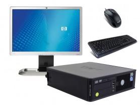 "Dell OptiPlex 745 SFF (Bronze) + 20,1"" HP L2045W Monitor (Bronze) + Klavesnica a Myš repasovaný počítač - 2070185"