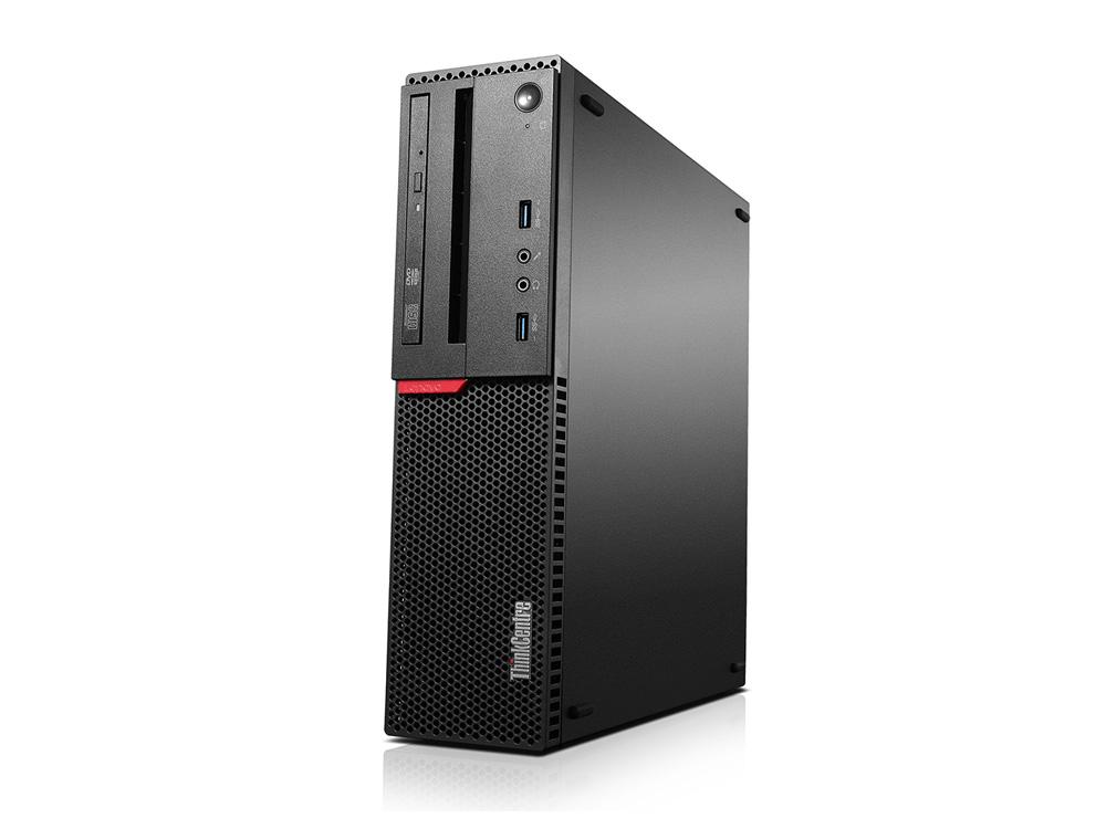 """Lenovo ThinkCentre M800 + 24"""" SyncMaster S24A450 + 1080p Webkamera + Klavesnica a Myš - SFF   i5-6500   8GB DDR4   128GB SSD   NO ODD   HD 530   Win 10 Pro   Silver"""