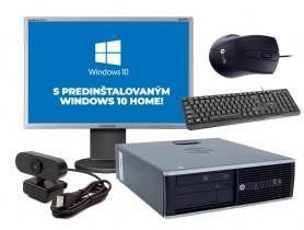 "HP Compaq 6305 Pro SFF + 22"" Samsung 2243BW + W10 Home"