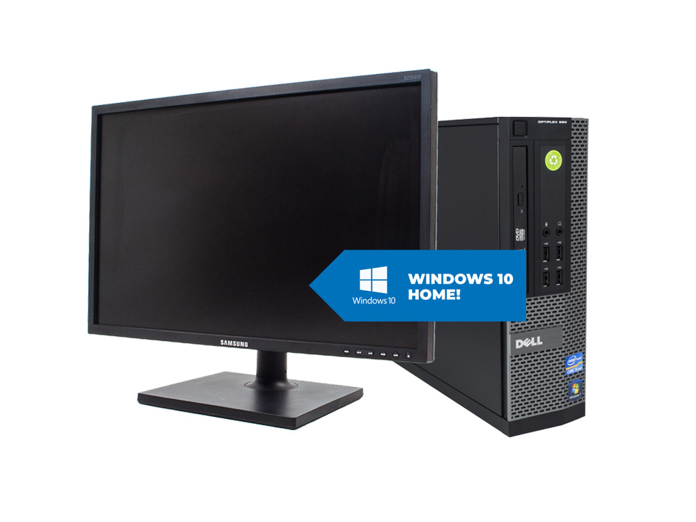 "Dell OptiPlex 790 SFF + 22"" Samsung S22E450 + MAR Windows 10 HOME - SFF 