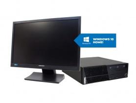 """Lenovo ThinkCentre M72E SFF + 22"""" Samsung S22A450 Monitor + MAR Windows 10 HOME pc zostava - 2070275"""