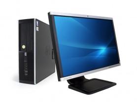 """HP Compaq 8300 Elite SFF + 22"""" HP Compaq LA2205wg Monitor (Quality Silver) PC zostava - 2070317"""