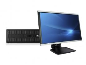 """HP ProDesk 600 G2 SFF + 24"""" HP LA2405x Monitor (Quality Silver) PC zostava - 2070318"""