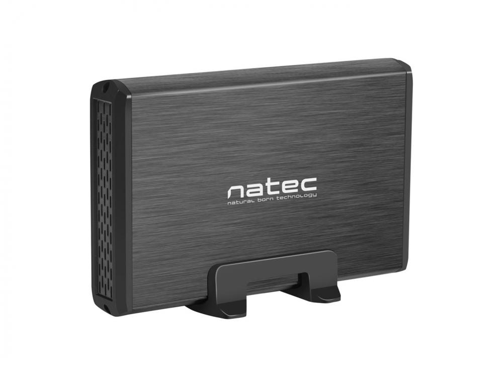 "HDD adapter Natec External box, HDD 3,5"" USB 3.0 Natec Rhino + AC Adapter - NEW"