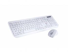 C-Tech CZ/SK WLKMC-01 Wireless Combo Set White