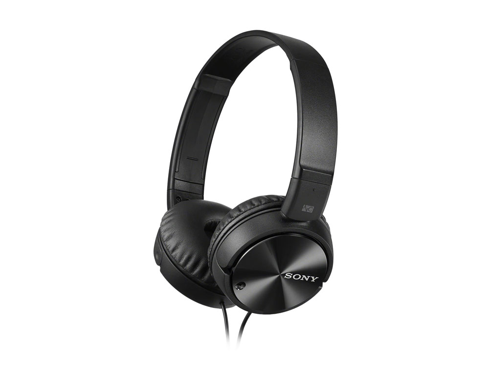 Headset Sony MDR-ZX110NA, Noise Canceling, Black - NEW   Wired